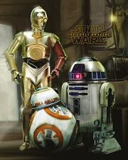 Star Wars Episode VII Droids Mini Poster 40x50cm