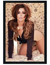 Cheryl Cole Black Wooden Framed Girls Aloud Star Maxi Poster 61x91.5cm