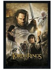 Lord of the Rings Black Wooden Framed The Return of the King Poster 61x91.5cm