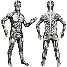 MORPHSUITS MONSTERS ANDROID BODYSUIT SPANDEX COSPLAY ROBOT HALLOWEEN COSTUME