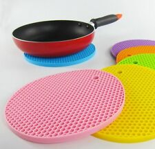 Silicone Mat Hot Pot Flexible Kitchen Honeycomb Oven Loops Pan Dishes Holder
