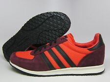 ADIDAS ORIGINALS ADISTAR RACER MEN'S SHOE LEATHER TRAINERS ZX RED BLACK