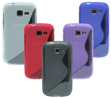 Samsung Galaxy Trend Lite S7390 Shell Mobile Phone Case Pouch + Display Film