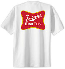 Lacrosse High Life T-Shirt Jersey Short Sleeve Tee New Adult and Youth Sizes