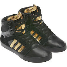 Adidas BBNeo hi-top X Shoes Trainers Size 36-47 black / gold New