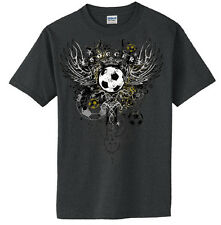Soccer Wings T-Shirt Jersey Short Sleeve and Long Sleeve New Youth - Adult Sizes