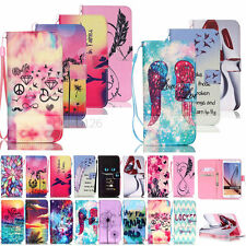 Vogue Pattern Wallet PU Leather Case Cover For Samsung Galaxy S3/4/5/6/G360/G530