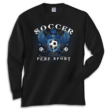 Soccer Eagle T-Shirt Jersey Long Sleeve or Short Sleeve New Youth and Adult
