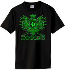 Soccer Play Hard Eagle T-Shirt Jersey Short or Long Sleeve New Youth or Adult