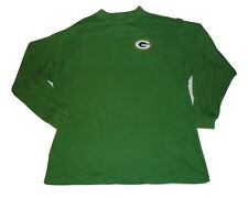 Green Bay Packers Big and Tall Long Sleeve Shirt Mock Turtleneck NFL Apparel