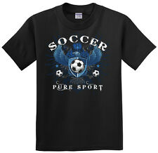 Soccer Eagle T-Shirt Jersey Short Sleeve or Long Sleeve New Tee Youth and Adult