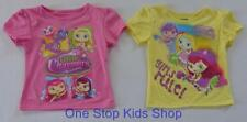 LITTLE CHARMERS Toddler Girls 2T 3T 4T Short Sleeve Tee SHIRT Top Nickelodeon