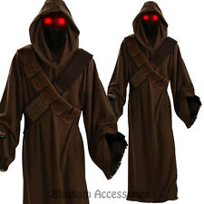 C565 Star Wars Jawa Mens Alien Adult Light Up Eyes Halloween Fancy Dress Costume