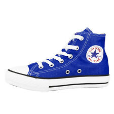 CONVERSE CHUCK TAYLOR ALL STAR HI CHILDRENS SHOES BLUE 342366F RADIO BLUE