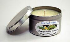 Soy Wax Candle Richly Scented, 8 Oz tin - You Choose Scent