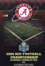 2009 SEC FOOTBALL CHAMPIONSHIP: ALABAMA CRIMSON TIDE VS. FLORIDA GATORS USED - V