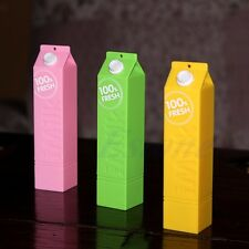 Portable Milk 2600mAh Power Bank External Battery Charger Box for Mobile Phone
