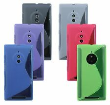 MOBILE PHONE ACCESSORIES for Nokia Lumia 830 SOFT CASE COVER TAB POUCH SILICONE