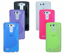 LG G3 S D722 Shell Mobile Phone Case Pouch Protective Silicone Gel + Foil