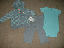 Carters Baby Boys Newborn 3 6 9 months Size Sly Little Guy Fox Clothes Set NWT