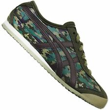 ASICS ONITSUKA TIGER MEXICO 66 CAMO MILITARY LADIES SNEAKER SHOES CAMOUFLAGE