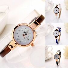 HOT Fashion Womens Thin Strap Bracelet Wristwatch Classy Lady Quartz DRESS Watch