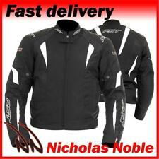 RST R-16 1061 Black White WATERPROOF CE ARMOURED URBAN SPORTS TEXTILE JACKET
