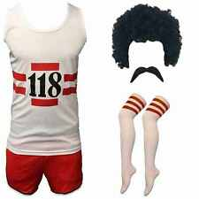 118 FANCY DRESS 118 MENS WOMENS COSTUME MARATHON DO STAG RETRO VEST SHORTS SET