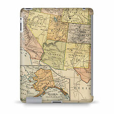 Vintage South West USA Map Case - fits iPad Kindle Samsung Galaxy Tab
