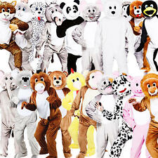 Deluxe Animal Mascot Adults Fancy Dress Book Week Day  Mens Ladies Costumes New