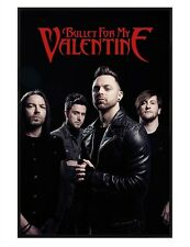 Bullet For My Valentine Gloss Black Framed Band Picture BFMV Poster 61x91.5cm