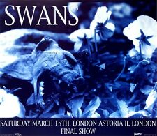 Swans at London Astoria II Frank Kozik Limited Edition Print