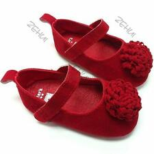 Baby Shoes Soft Boys Girls Infant Toddler Crib Newborn Prewalker Princess D98