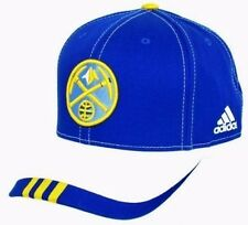 Denver Nuggets Official Team Adjustable Hat by adidas - Blue