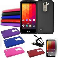 Phone Case For LG K7 4G LTE / Tribute 5 LTE Hard Cover Screen Guard Car Charger