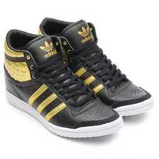 Adidas Top Ten Hi Sleek UP W Shoes Trainers Size 40-41 black / gold