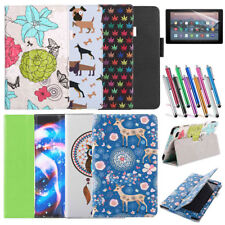 New PU Leather Protective Folding Folio Stand Case for 2015 Amazon Kindle Fire