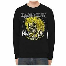 Iron Maiden Killers World Tour 1981 Heavy Metal Rock Band Music Mens Sweatshirt