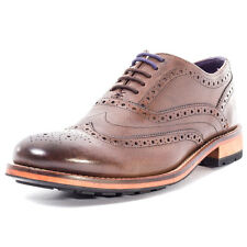 Ted Baker Guri 8 Mens Leather Brown Brogues
