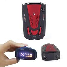 Car-Truck Radar Detector Multi-Band Laser Anti-Police Voice Alert&Mute LED V7 SP