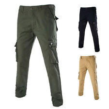 Hot Mens Casual Combat Camo Cargo Military Work Trousers Military BDU Cargo Pant