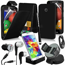 10 in 1 Bundle Kit Accessory Case Car Holder Charger For Motorola Moto E