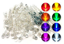 80pcs 5mm Clear LED Light Emitting Diodes