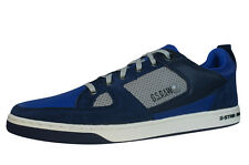 G-Star Raw Pitcher Rhodes Mens Leather Trainers Shoes - Navy 0AB - See Sizes