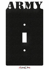 SWEN Products ARMED SERVICES US ARMY MILITARY Light Switch Plate Covers