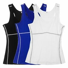 Women's Soft Slimming Undershirt Vest Shaper Cami Body Shaper Shapewear Tank Top
