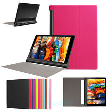 """Leather Shell Protector Stand Case Cover 10.1"""" For Lenovo YOGA Tab 3 Pro 10 X90F"""
