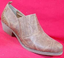 Women's SUGAR TUDOR Brown Western Fashion Casual Dress Ankle Boots/Booties NEW