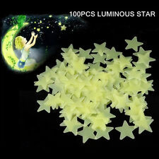 Luminous Paste Star Stickers Glow In The Dark Fluorescent Patch Wall Decoration
