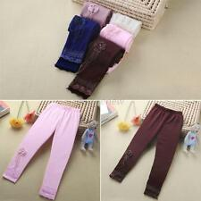 Candy Color Kid Girl Tight Pants Stretch Ballet Dance Leggings Baby Trousers